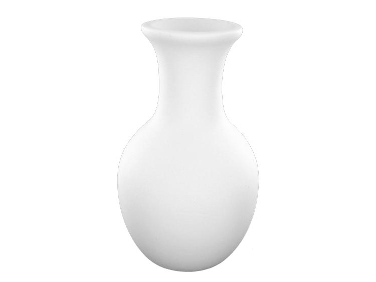 Bud Vase Clay Blank Crystal Fusion Glass Art