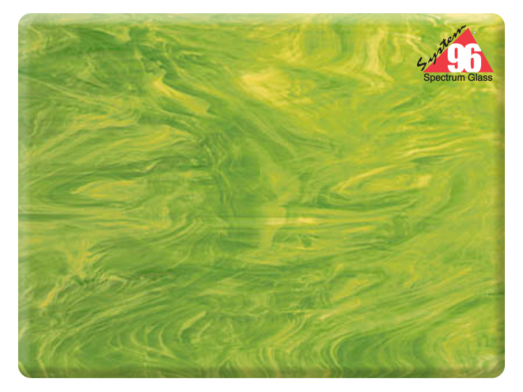 lime greenwhite sheet glass - Colored Glass Sheets