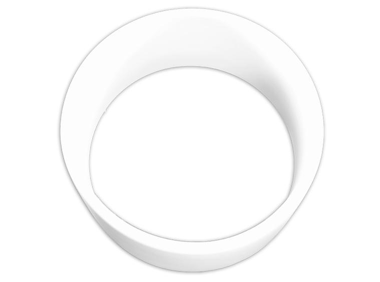 Slumpys Studio Ceramics Olivine Plate Mold for Glass Slumping SM-108-P 7.5 L x 7.5 W x.75 H