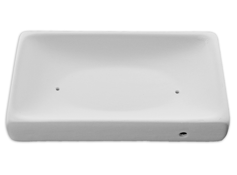 Rectangular Sushi Plate Mold - Small  sc 1 st  Slumpyu0027s & Small Rectangular Sushi Plate - Ceramic Slump Mold